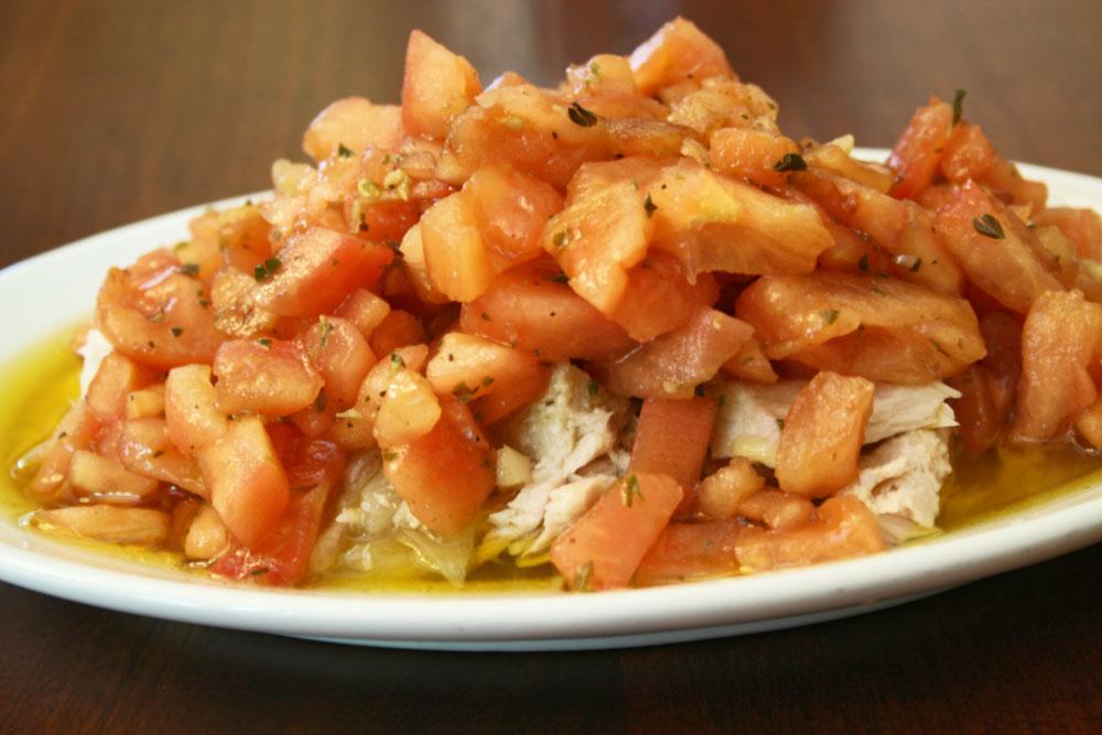 Todo el sabor en nuestra ensalada de tomate